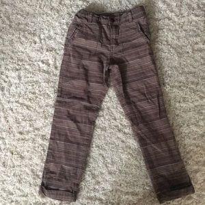Brown striped OSH KOSH 5t boys pants